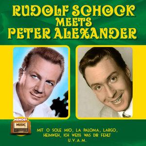 Rudolf Schock, Peter Alexander 歌手頭像