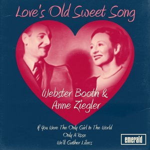 Webster Booth & Anne Ziegler, Webster Booth, Anne Ziegler 歌手頭像