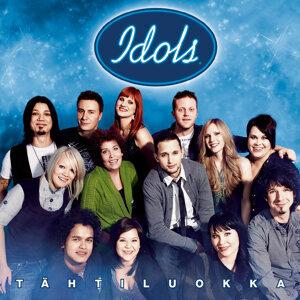Idols 2008 歌手頭像