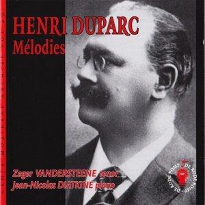 Zeger Vandersteene, Jean-Nicolas Diatkine 歌手頭像
