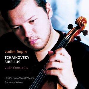 Vadim Repin, Emmanuel Krivine & London Symphony Orchestra アーティスト写真