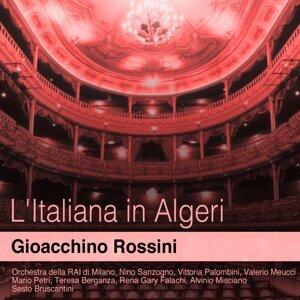 Orchestra della RAI di Milano, Nino Sanzogno, Teresa Berganza 歌手頭像