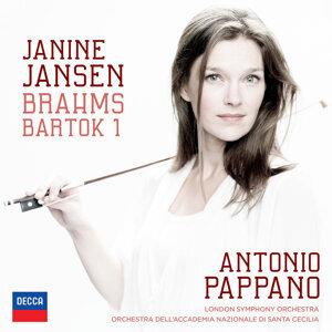 Janine Jansen, London Symphony Orchestra, Orchestra dell'Accademia Nazionale di Santa Cecilia, Antonio Pappano 歌手頭像