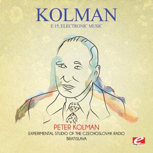 Peter Kolman, Experimental Studio of the Czechoslovak Radio Bratislava 歌手頭像