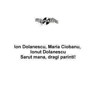 Ion Dolanescu, Maria Ciobanu, Ionut Dolanescu 歌手頭像