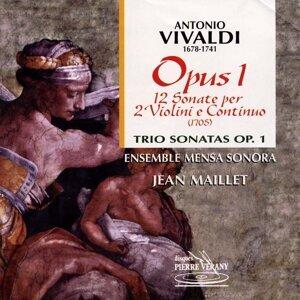 Ensemble Mensa Sonora, Jean Maillet, Isabelle Pointel, Sylvette Gaillard, Yanncik Varlet, Claire Antonini 歌手頭像
