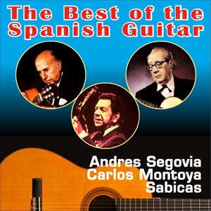 Andres Segovia, Sabicas, Carlos Montoya 歌手頭像