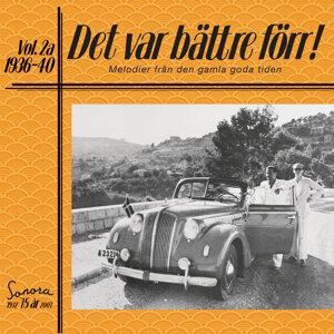 Det var bättre förr Volym 2a 1936-40 歌手頭像