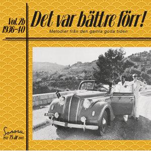 Det var bättre förr Volym 2b 1936-1940 歌手頭像