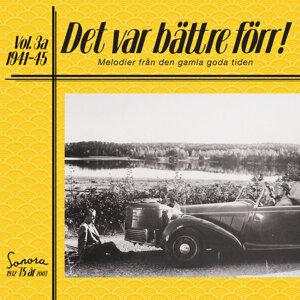 Det var bättre förr Volym 3 a 1941-1945 アーティスト写真