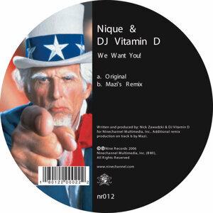 Nique/Dj Vitamin D, Nique, Vitamin D 歌手頭像