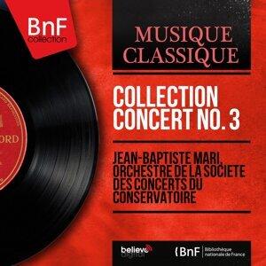 Jean-Baptiste Mari, Orchestre de la Société des concerts du Conservatoire 歌手頭像
