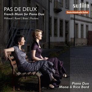 Piano Duo Mona & Rica Bard アーティスト写真