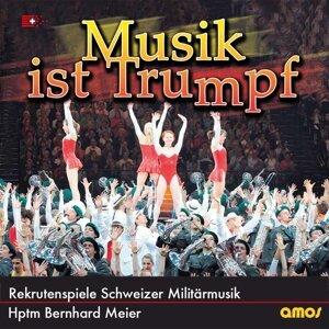 Rekrutenspiele Schweizer Militärmusik & Hauptmann Bernhard Meier 歌手頭像