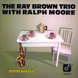 Ray Brown Trio & Ralph Moore アーティスト写真