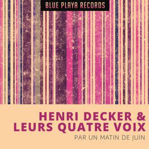 Henri Decker, Leurs Quatre Voix 歌手頭像