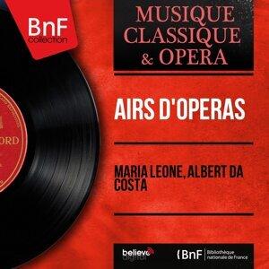 Maria Leone, Albert da Costa 歌手頭像