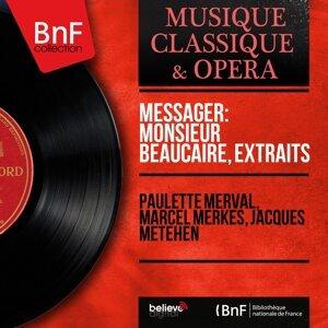 Paulette Merval, Marcel Merkès, Jacques Météhen 歌手頭像