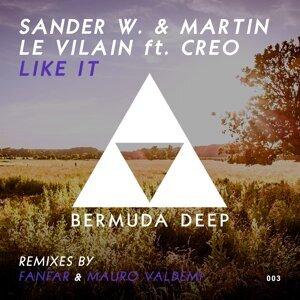 Sander W. & Martin Le Vilain featuring Creo 歌手頭像