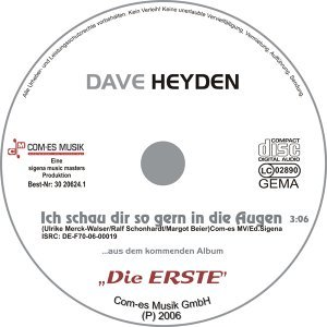 Dave Heyden 歌手頭像