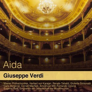 Wiener Philharmoniker, Herbert von Karajan, Renata Tebaldi 歌手頭像
