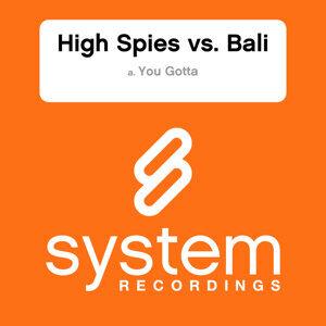 High Spies vs Bali 歌手頭像