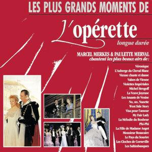 Marcel Merkès & Paulette Merval 歌手頭像