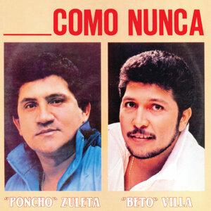 Poncho Zuleta, Beto Villa 歌手頭像