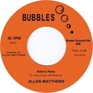 Allen Matthews 歌手頭像