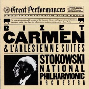 National Philharmonic Orchestra, Leopold Stokowski アーティスト写真