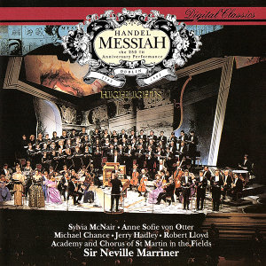 Sylvia McNair, Anne Sofie von Otter, Michael Chance, Jerry Hadley, Robert Lloyd, Academy of St. Martin  in  the Fields Chorus, Academy of St. Martin in the Fields, Sir Neville Marriner 歌手頭像