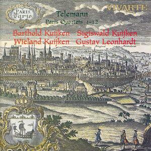 Barthold Kuijken, Sigiswald Kuijken, Wieland Kuijken, Gustav Leonhardt 歌手頭像