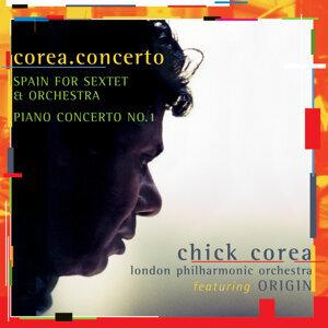 Chick Corea, London Philharmonic Orchestra, Steven Mercurio アーティスト写真