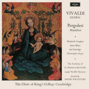 Elizabeth Vaughan, Dame Janet Baker, Ian Partridge, Christopher Keyte, The Choir of King's College, Cambridge, Academy of St. Martin in the Fields, Sir David Willcocks 歌手頭像