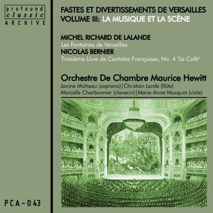 Orchestre De Chambre Hewitt, Janine Micheau 歌手頭像