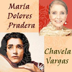 Chavela Vargas, María Dolores Pradera 歌手頭像