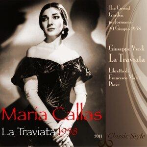 Maria Callas, Nicola Rescigno, The Covent Garden Orchestra, Cesare Valletti, Ronald Lewis, Marie Collier, Lea Roberts, Mario Zanasi, Dermot Try, Forbes Robinson, David Kelly 歌手頭像