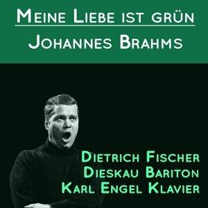 Dietrich Fischer Dieskau Bariton, Karl Engel Klavier 歌手頭像