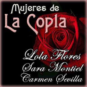 Lola Flores, Carmen Sevilla, Sara Montiel 歌手頭像