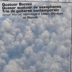 Quasar, Quatuor Bozzini, Trio de guitares contemporain 歌手頭像