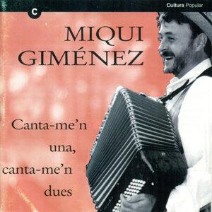 Miqui Giménez 歌手頭像