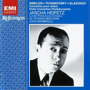 Jascha Heifetz/London Philharmonic Orchestra/Sir Thomas Beecham/Sir John Barbirolli 歌手頭像