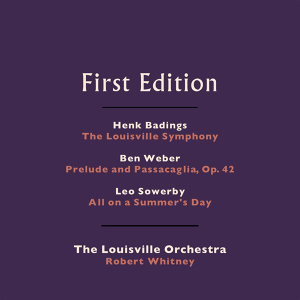 The Louisville Orchestra, Robert Whitney 歌手頭像