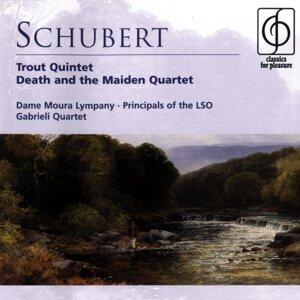 Dame Moura Lympany/Principals of the London Symphony Orchestra/Gabrieli Quartet 歌手頭像