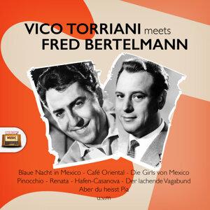 Vico Torriani, Fred Bertelmann 歌手頭像