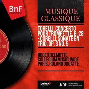 Roger Delmotte, Collegium musicum de Paris, Roland Douatte 歌手頭像