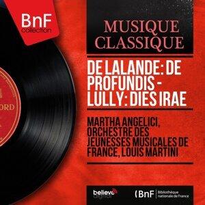 Martha Angelici, Orchestre des Jeunesses musicales de France, Louis Martini 歌手頭像