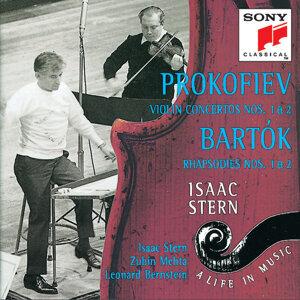 Isaac Stern, New York Philharmonic, Zubin Mehta, Leonard Bernstein 歌手頭像