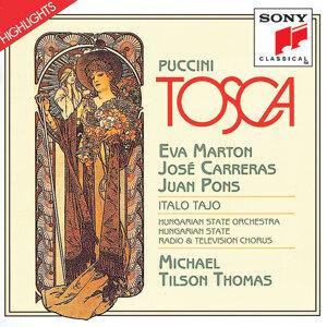 Eva Marton, Hungarian State Orchestra, José Carreras, Michael Tilson Thomas, Juan Pons 歌手頭像