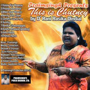 Rasika Dindial 歌手頭像